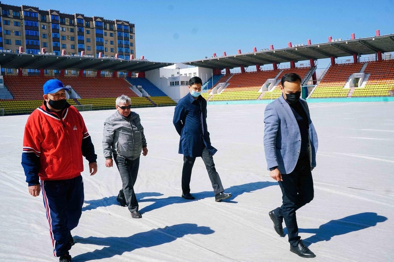 Руководитель ПФЛК осмотрел готовность стадионов ФК «Актобе»