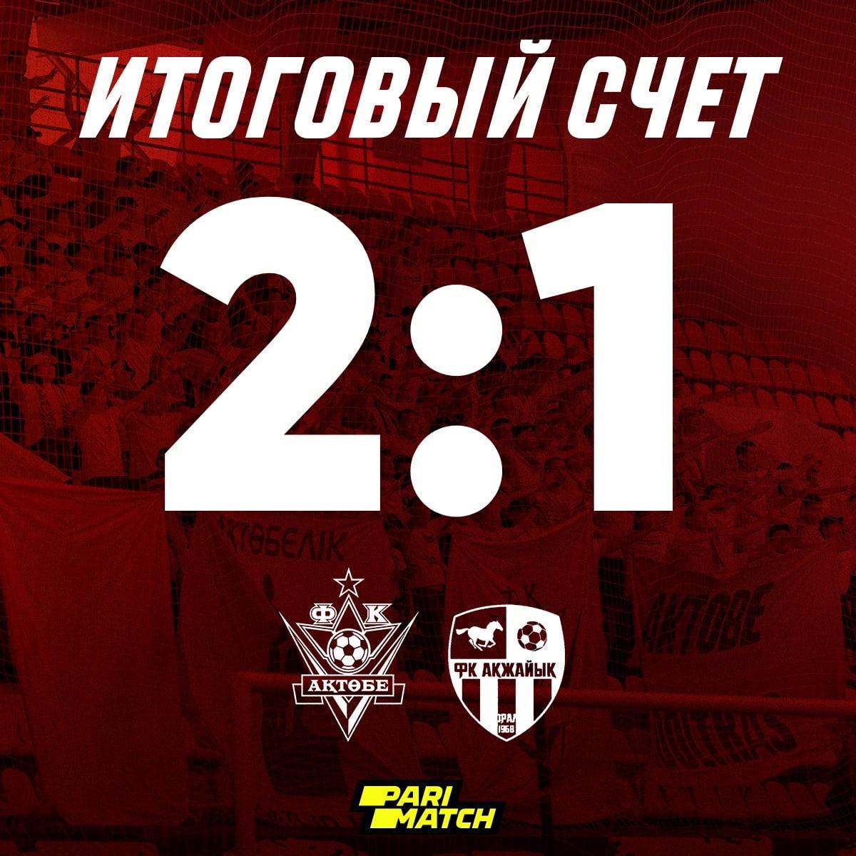С победой Актюбинцы!